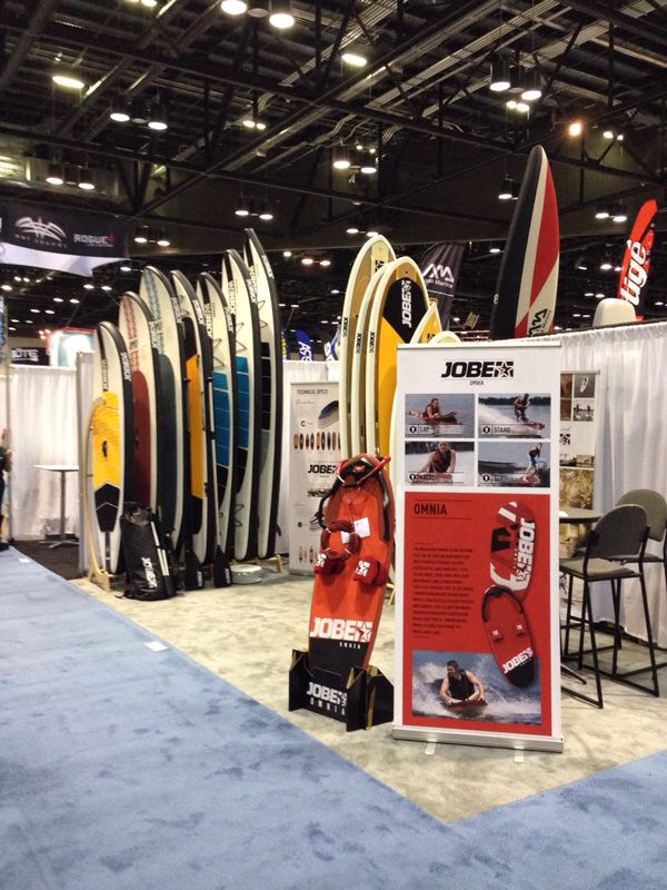 New booth, new SUP´s, new reactions