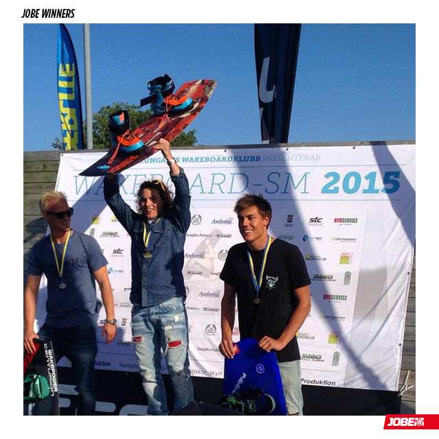 Johan Vikstrom hits the first spot at Swedish Wakeboard Boat Nationals Open Men!