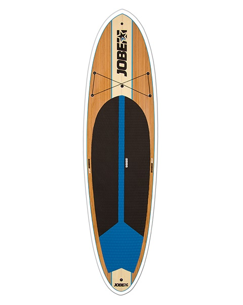Cruise along the water with the Jobe Bamboo SUP 10.0