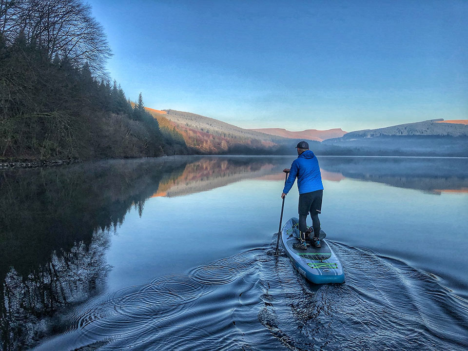 A SUP adventure in South Wales