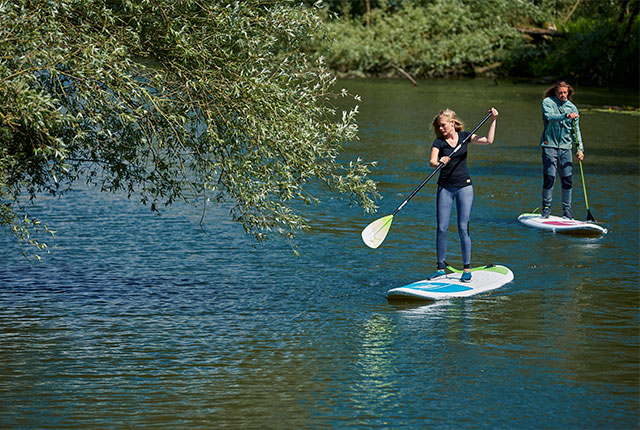 Three reasons why stand up paddling keeps you healthy