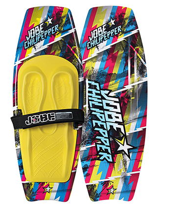 Make your kneeboarding look super hot with the Jobe Chilipepper