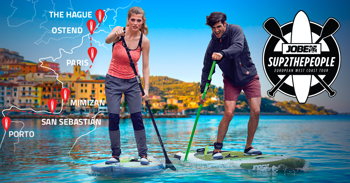 We bring Stand Up Paddling to Europe!