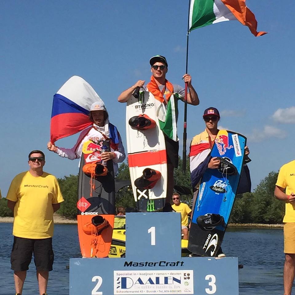 Jobe at the IWWF EU wakeboarding Championships