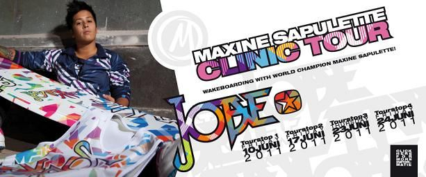 First tour stop of the Jobe Maxine Sapulette Clinic Tour