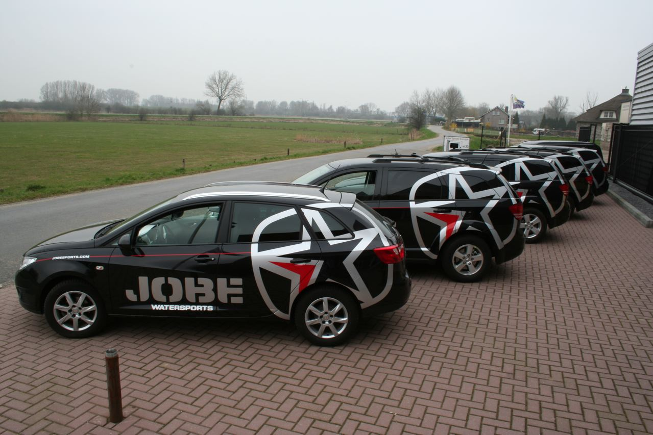 Jobe presents new car range!