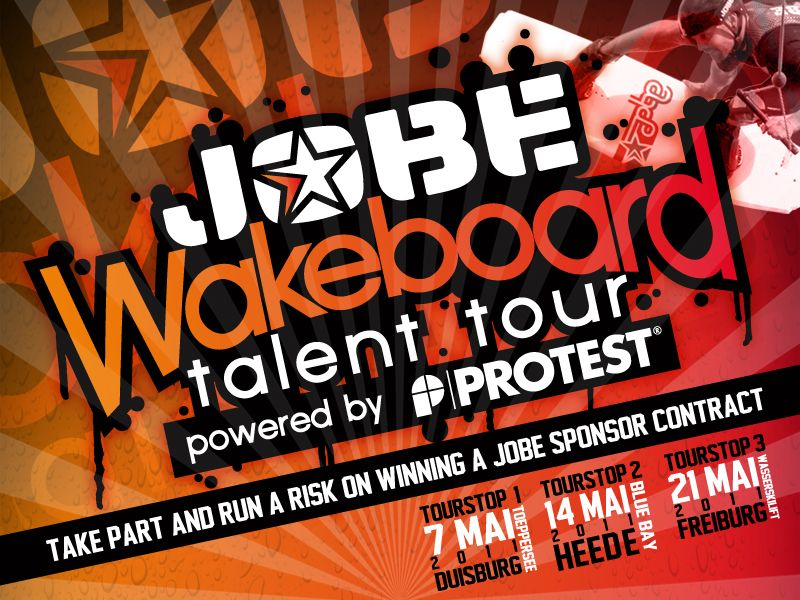 You still got 2 weeks left to sign in on the Jobe Wakeboard Talent Tour!