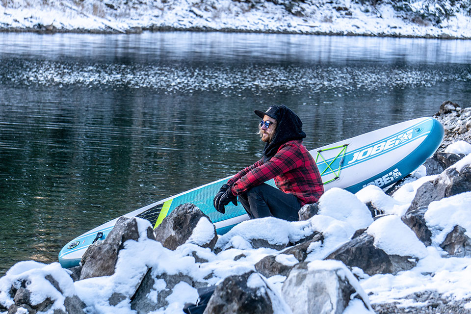 A winter SUP trip: the best places to go paddle boarding