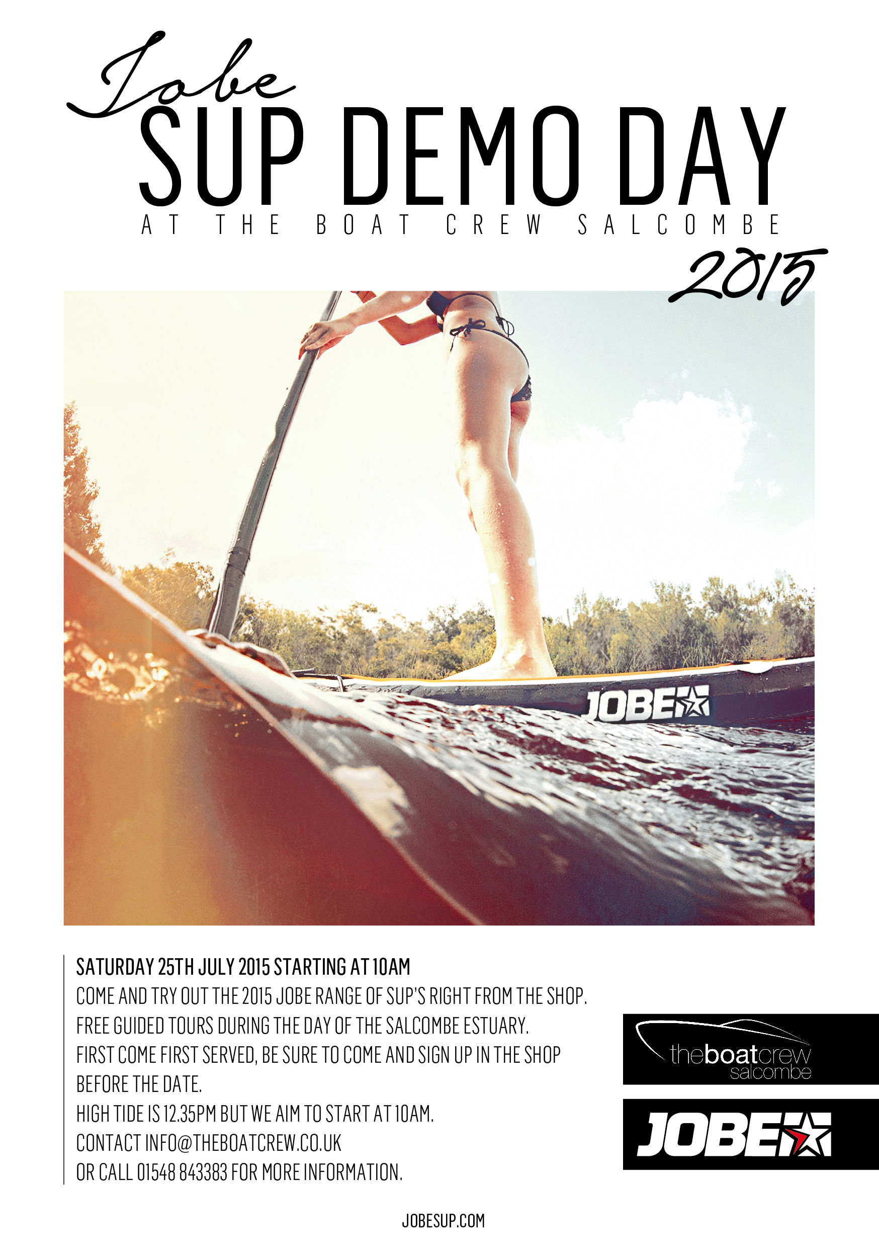 SUP demo day hosted by the Boat Crew Salcombe