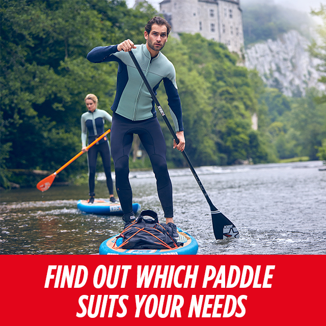 What's your perfect paddle match?