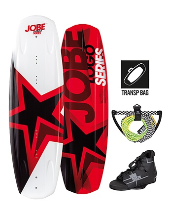 Perfect start-to-wakeboard-package; logo series package!