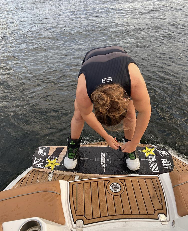 New to the Jobe wakeboard team: Tony Iacconi